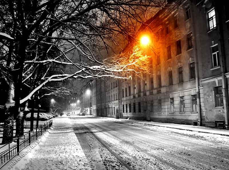 Ночь улица фонарь ночь улица фонарь